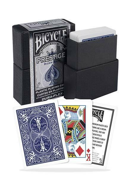Bicycle Prestige Dura-Flex Plastic Playing Cards - 1 Sealed Blue Deck