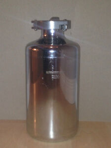 PS-12F Stainless Steel 316 2L Bottle with Triclamp Fitting
