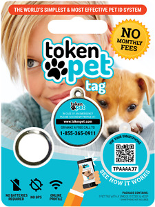 FREE QR Coded Lost & Found Pet Tags