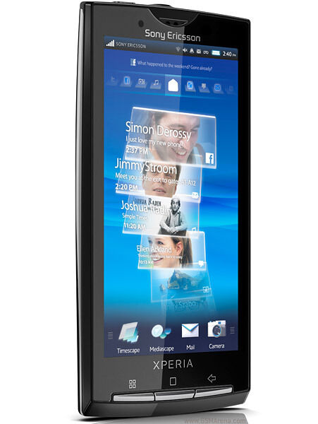 NEW InBox Sony Ericsson Xperia X10 X10a - 1GB - Sensuous black (AT&T) Unlocked.