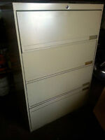 Legal 4 drawer file cabinet