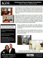FREE Professional Home Staging Consultation