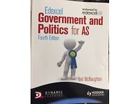 (Unused) Edexcel Government and Politics for AS 4th Edition (Edexcel for As)