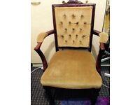 Pretty Arm chair in E7