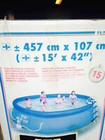 """POOL - inflatable 15' by 42"""""""