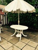 table pour parasol