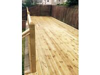 Fencing and decking in Falkirk and surrounding areas