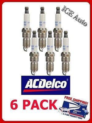6 PACK Spark Plugs - Iridium ACDELCO PRO 41-103 GENUINE OEM (6 spark plugs)