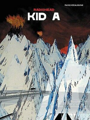 Radiohead Kid A Sheet Music Piano Vocal Guitar Songbook NEW 000322475