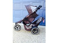 Phil and teds dash single/double buggy