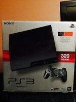 Playstation 3 with 320GB + 3 games