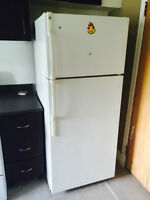 fridge and stove for sale, $100 for both