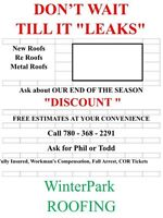 Winterpark roofing