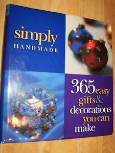 365 easy gift & decorations you can make BOOK