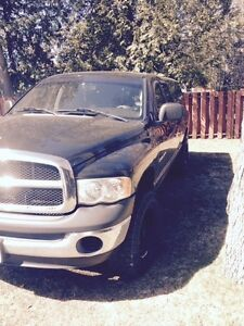 2005 Dodge Ram 1500 4X4 quad cab with a 6 speed manual
