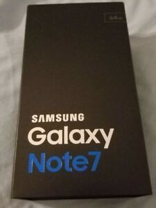 SEALED NOTE 7 64GB FACTORY UNLOCKED CALL ME