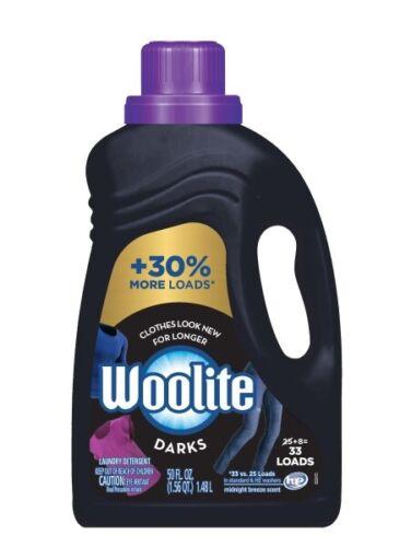 Woolite Dark Care Laundry Detergent, Midnight Breeze Scent, 50 oz/ 33 loads