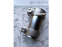 Brand new dual exhaust clamp to fit Golf mk4 / Golf v6 4motion / Seat leon / audi