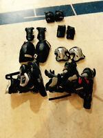 ROLLER BLADES for sale with protective gear