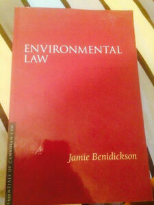 Dalhousie ENVS 3200 Textbook, Environmental Law