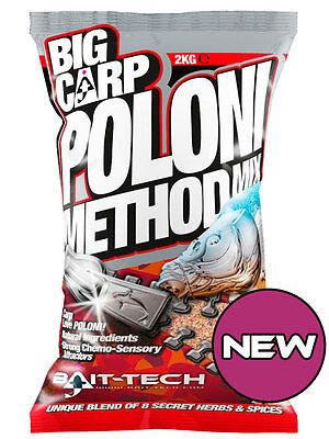 BAIT TECH BIG CARP POLONI METHOD MIX GROUNDBAIT 2KG 2501483