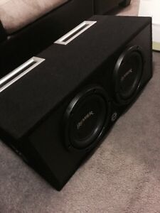 ^** COMPETITION PREMIER PIONEER SUBS IN PORTED BASSWORX BOX Kitchener / Waterloo Kitchener Area image 2
