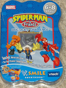 Spiderman V-Tech V. Smile Video Game - Doc Ock's Challenge NEW
