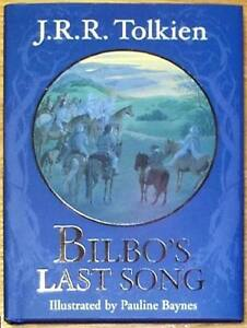 BILBOS-LAST-SONG-o-o-Tolkien-o-o-ILLUSTRATED-HC-HOBBIT-RELATED