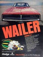 Vintage muscle car ads from 1966-1971 - GM-Ford-Chrysler-AMC