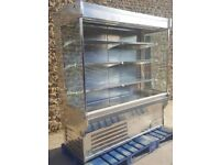 arneg open chiller stainless