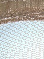$50 pour 100 bas stay-up fishnet beige