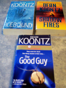 PAPERBACK  DEAN KOONTZ BOOKS Kingston Kingston Area image 3