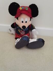 Stuffed Disney Mickey Mouse