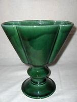 Vintage Pot Vase HULL USA F36 Vert forêt Planter