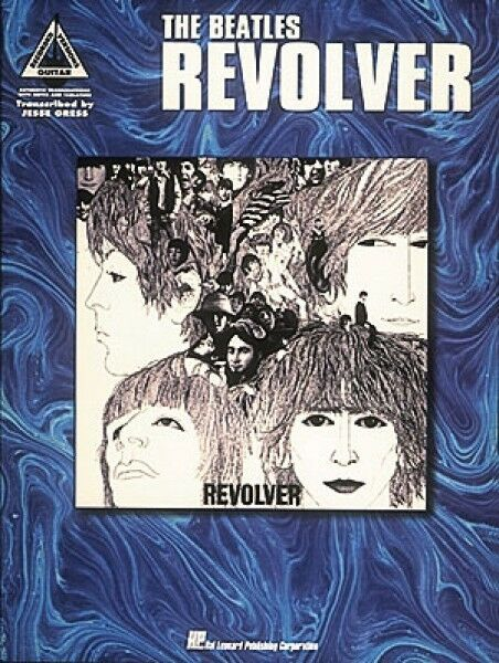 The Beatles Revolver Sheet Music Guitar Tablature NEW 000694891