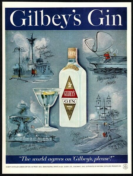 1959 GILBEY