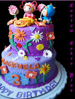 Wedding Cakes, Character Cakes, Cupcakes, Cakepops, Cookies