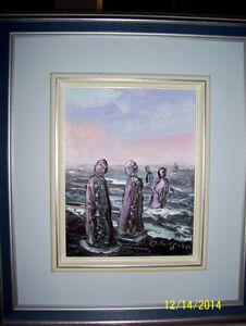 peintre Marcel Gagnon de Ste-Flavie