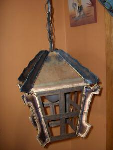 Vintage Brass & Iron Lamp Gatineau Ottawa / Gatineau Area image 2