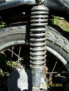 Honda CB360 CB550 CB400 CB450 CB500 CJ360 rear shocks springs