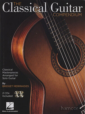 The Classical Guitar Compendium TAB & Standard Notation Music Book/2CDs