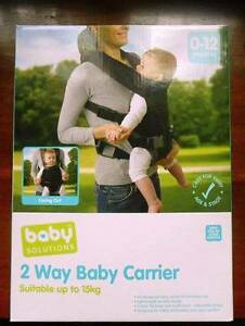 Baby solutions, 2 way baby carrier Newtown Geelong City Preview