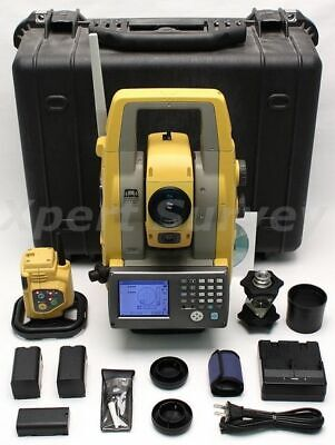 Topcon Ps-103a Power Station 3 Robotic Total Station W Atp1 Prism Ps103a