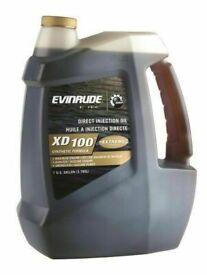 Evenrude XD100 2 Stroke Oil 1 US Gallon