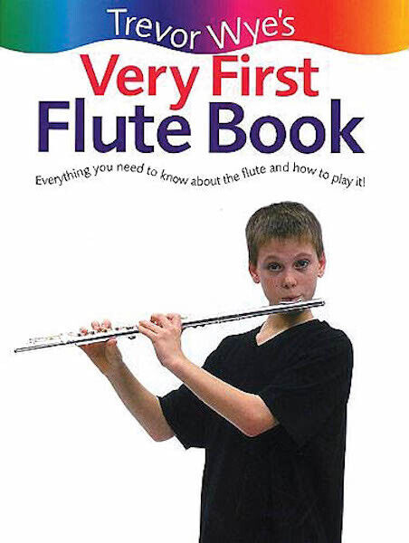 Very First Flute Book Beginner Music Lessons for Kids Learn to Play Trevor Wye