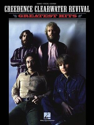 Creedence Clearwater Revival Greatest Hits Sheet Music Piano Vocal Gui 000306778