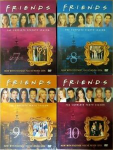 FRIENDS Season 7, 8, 9, 10 DVDs