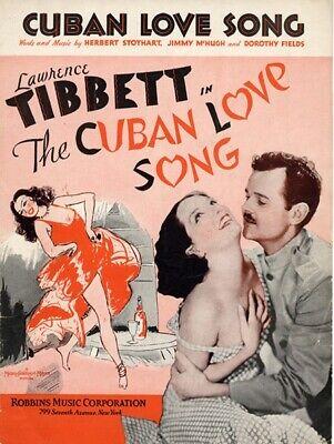 The Cuban Love Song  - 1931 - Lupe Velez Tibbett Van Dyke pre-Code Musical DVD