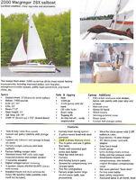 2000 Macgregor 26x, 25HP 2stroke and trailer