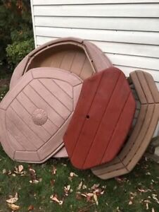 NEED GONE ASAP - Step 2 Sandbox and picnic table
